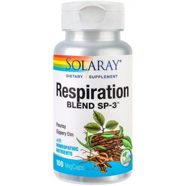 Respiration Blend 100Cps Solaray Secom