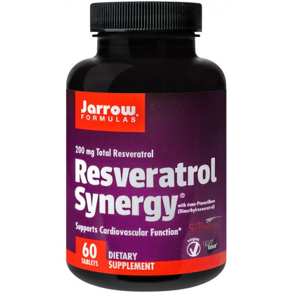 Resveratrol Synergy 200Mg 60Tb Jarrow Secom