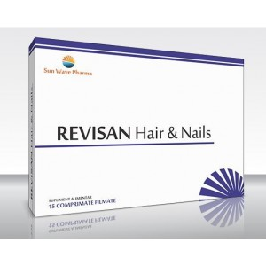 Revisan Hair & Nails 15cpr Sun Wave Pharma