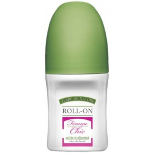 Roll-On Femme Chic cu Salvie si Glicerina 50ml Manicos