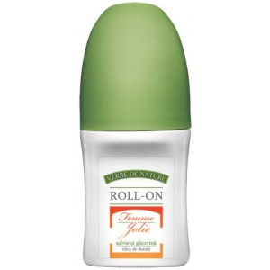 Roll-On Femme Jolie cu Salvie si Glicerina 50ml Manicos