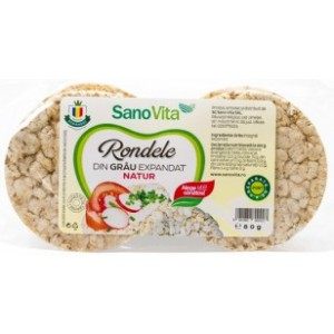 Rondele grau simple 80gr SanoVita