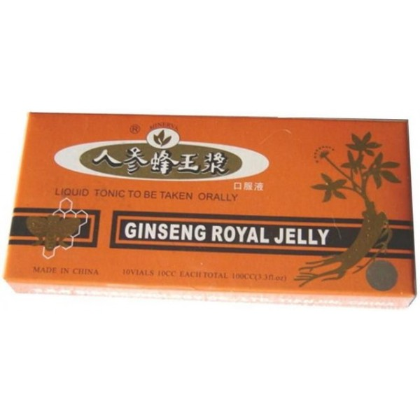 Royal Jelly & Ginseng 10Fiole Naturalia Diet