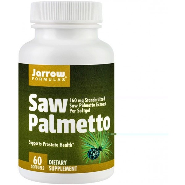 Saw Palmetto 60cps Jarrow Secom