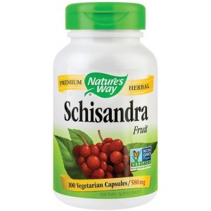 Schizandra Fruit 100Cps Nature's Way Secom