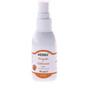 Spray Propolis & Galbenele 50ml Mebra