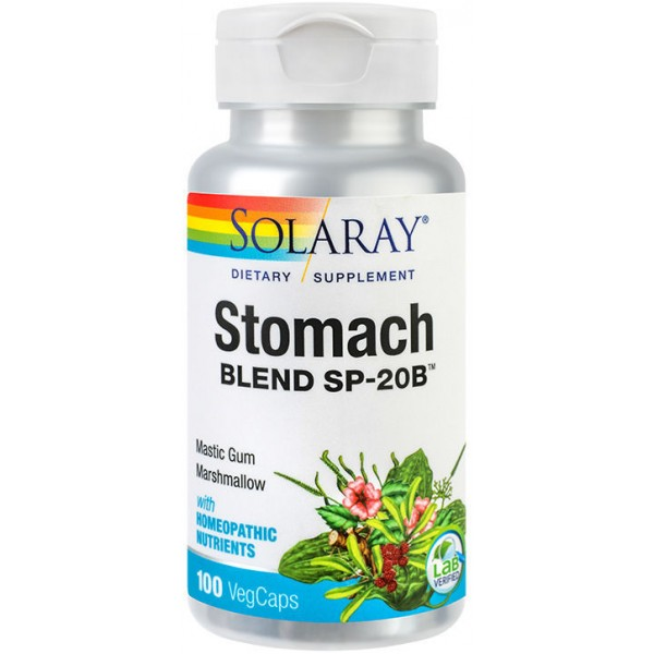 Stomach Blend 100Cps Solaray Secom
