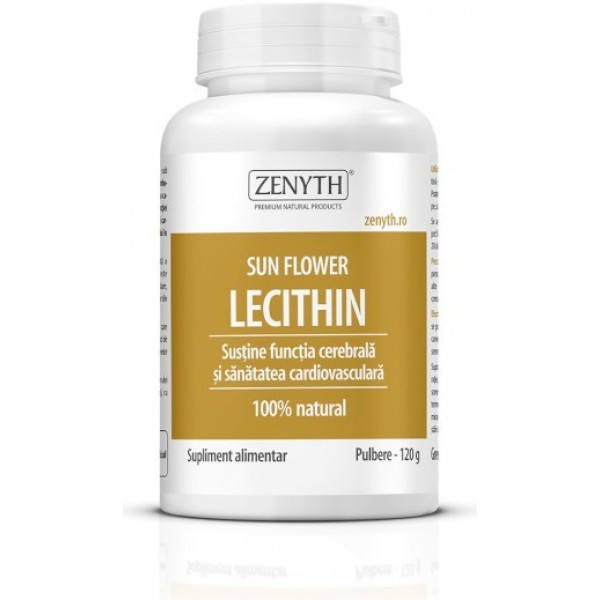 Sun Flower Lecithin Pulbere 120gr Zenyth