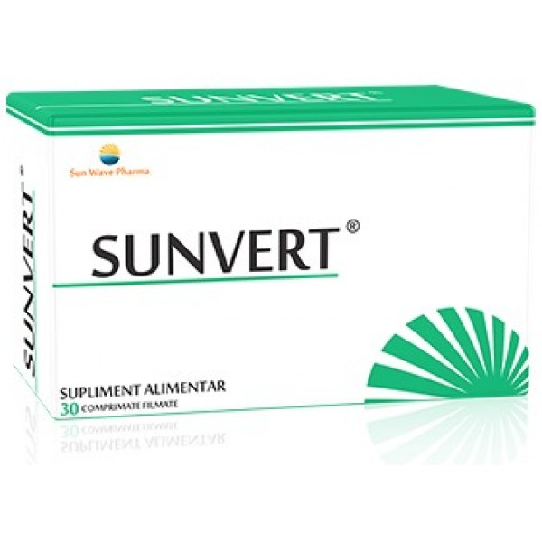 Sunvert 30cpr Sun Wave Pharma