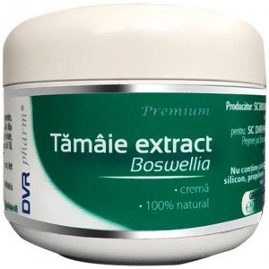Tamaie extract – Boswellia crema 75ml DVR Pharm