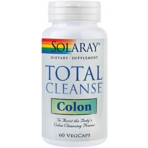 Total Cleanse Colon 60Cps Solaray Secom