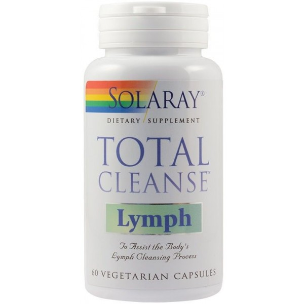 Total Cleanse Lymph 60Cps Solaray Secom