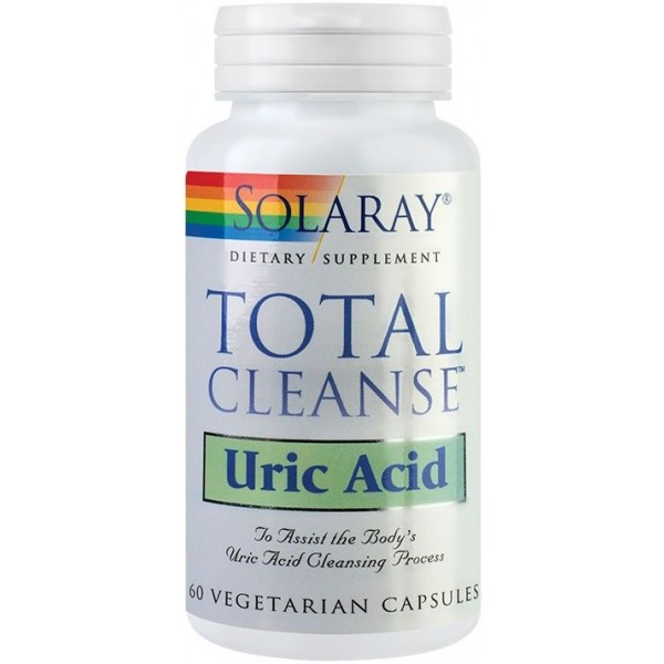 Total Cleanse Uric Acid 60Cps Solaray Secom