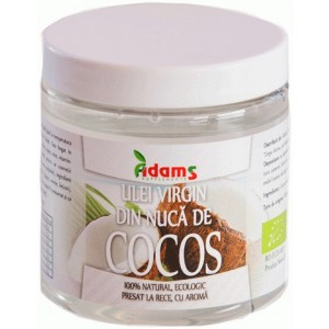Ulei de Cocos Virgin Ecologic 250ml Adams Vision