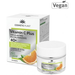 Vit.C Plus Crema Antirid Fermitate 40+ 50ml Cosmetic Plant