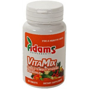 Vitamix 30cpr (Multivitamine & Minerale) Adams Vision