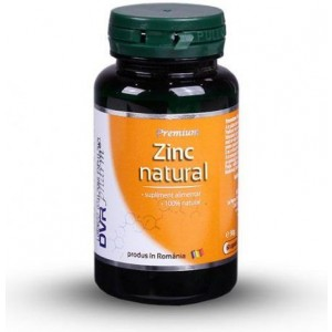 Zinc natural 60cps DVR Pharm