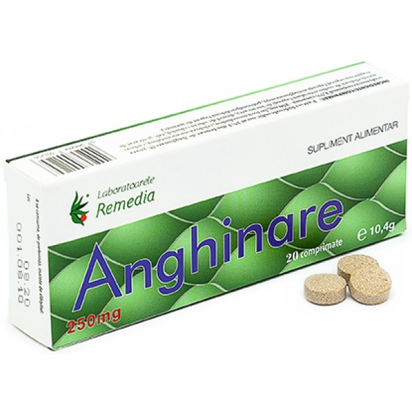 Anghinare 250mg 20cpr Remedia