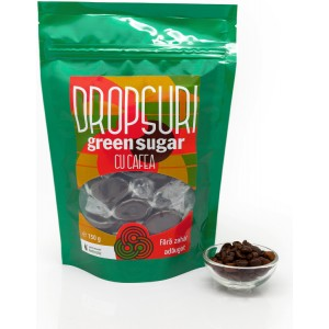 Dropsuri Green Sugar Cafea 150gr Remedia