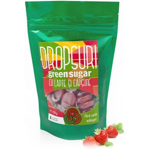 Dropsuri Green Sugar Capsuni 150gr Remedia