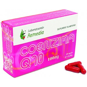 Coenzima Q10 100mg 30cps Remedia