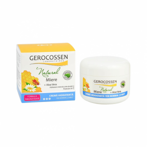 Crema hidratanta ten normal si mixt Natural Miere 100ml Gerocossen
