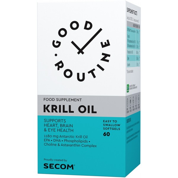 Krill Oil 60cps Secom Good Routine