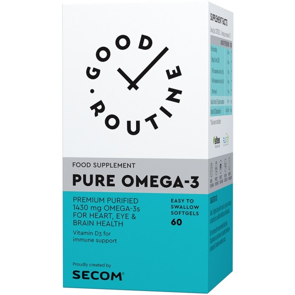 Pure Omega-3 60cps Secom Good Routine