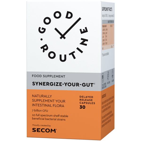 Synergize-Your-Gut 30cps Secom Good Routine