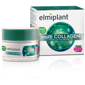 Collagen Crema Antirid Noapte 50ml Elmiplant