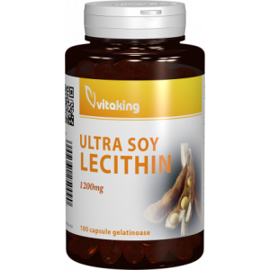 Lecitina din Soia 1200mg 100cps Vitaking