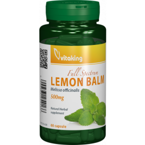 Lemon Balm 500mg 60cps (Roinita) Vitaking
