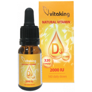 Picaturi de Vitamina D 2000ui 10ml Vitaking