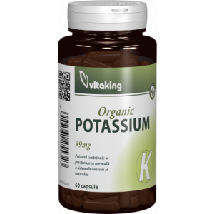 Potasiu (Gluconate) 99mg 60cps Vitaking